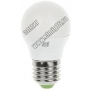 05,0Вт 3000К 220V Е27 Лампа светодиодная ASD LED-Р45-standard 160-260В 675Лм шар