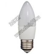 05,0Вт 3000К 220V Е27 Лампа светодиодная ASD LED-СВЕЧА 450Лм