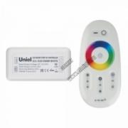 ULC-G50-RGBW White 11106 Контроллер д/управления многоцветным и белым светодиодн.источниками света 12/24B с пультом ДУ 2,4ГГц