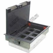 70081 LUK/8P Люк в пол на 8 модулей (45х45мм), пластик