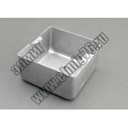 70116 BOX/1,5S Коробка для люков LUK/1,5BR,LUK/1,5AL в пол на 1,5 модуля (45х45мм) (мет.для бетона)/ А1031