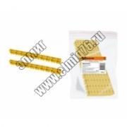 Маркер TDM наборный 6мм2 (B) желт. (100 шт.) SQ0534-0059
