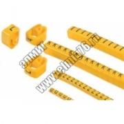 "Маркер наборный  символ ""L"" - желтый 1,5мм2 (150шт) TDM"