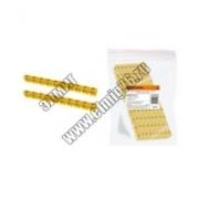 "Маркер наборный  символ ""N"" - желтый 1,5мм2 (150шт) TDM"