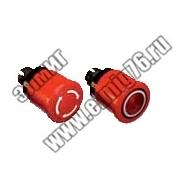 Кнопка MPMT3-10R ГРИБОК красная с усиленной фиксацией 1SFA611510R1001