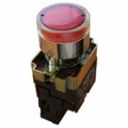 Кнопка BW3461 с подсветкой красный 1з TDM SQ0704-0055