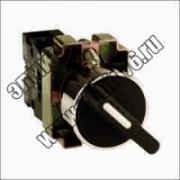 BD25 Переключатель черный 2 полож.I-O стандарт.ручка  1з+1р TDM SQ0703-0010