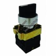 BD33 Переключатель черный 3 полож.I-O-II стандарт.ручка  1з+1р TDM SQ0703-0011