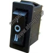YL-202-01 Переключатель клавишный черный на 3 положения 1з+1з TDM SQ0703-0024