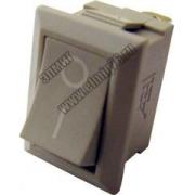 YL-211-01 Переключатель клавишный серый на 2 положения 1з TDM SQ0703-0019