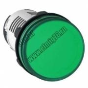 Лампа сигнальная светодиодная зеленая 220V 50Hz  XB7EV03MP