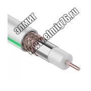 SAT 703B+CU/CU(75 Ом) 100м кабель белый PROCONNECT