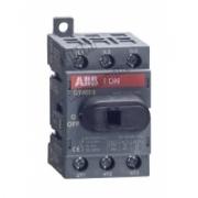OT 40F3 40А Рубильник 3-х полюсный для установки на DIN-рейку или монтажную плату 1SCA104902R1001
