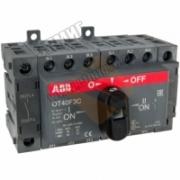 OT 40F3C  40А Рубильник реверсивный 1SCA104913R1001