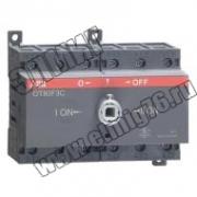 OT 80F3C  80А Рубильник реверсивный без ручки 1SCA105402R1001