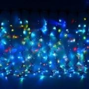 """Гирлянда новогодняя """"Занавес"""" 1,5х2,5м RGB наружное использование IP 44TDM"""