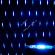 """Гирлянда новогодняя """"Сеть"""" 1,5х1,5м белый свет наружное использование IP 44TDM"""
