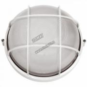 НПБ 1102 Светильник белый/круглый 100Вт с решеткой