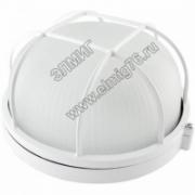 НПБ 1302 Светильник белый с решеткой 60Вт IP54