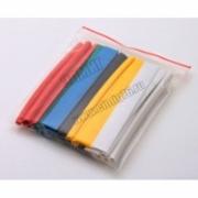 Термоусаживаемая трубка ТУТнг 20/10 набор (7 цветов по 3 шт. 100мм)