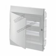 Щит распределительный навесной ЩРн-п Mistral41 24М пластиковый прозрачная дверь с клеммами 1SPE007717F9993