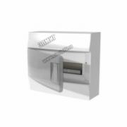 Щит распределительный навесной ЩРн-п Mistral41 12М пластиковый прозрачная дверь с клеммами  1SPE007717F9992