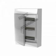 Щит распределительный навесной ЩРн-п Mistral41 36М пластиковый прозрачная дверь с клеммами 3 ряда  1SPE007717F9994