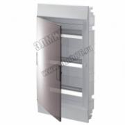 Щит распределительный навесной ЩРн-п Mistral41 54М пластиковый прозрачная дверь с клеммами  1SPE007717F9998