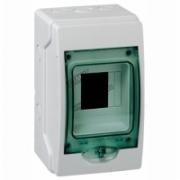 13976 Щит ЩРн-П-4 IP65 распределительный навесной пластиковый прозрачная дверь белый Kaedra