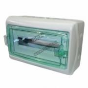 13982 Щит ЩРн-П-18 прозрачная дверь IP65 бел Kaedra Schneider Electric