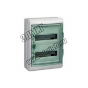 13983 Щит ЩРн-П-24 прозрачная дверь IP65 бел Kaedra Schneider Electric