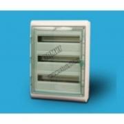 13986 Щит ЩРн-П-54 прозрачная дверь IP65 бел Kaedra  Schneider Electric
