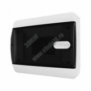 Бокс ЩРН-П- 6 IP41 прозрачная черная дверца CNK40-06-1 Tekfor ЩРНП