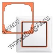 2516-904 Декоративная накладка, оранжевый 1726-0-0225