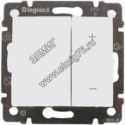 770074 Светорегулятор 4кн.600Вт бел. VALENA