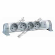 Удлинитель бытовой Legrand 694629 4X2К+З без кабеля комф