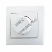 Диммер LEZARD MIRA 701-0202-115 С/П 800 Вт белый/белый (859382)