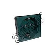 851119 Розетка с з/к,со шторками (зеленый) LK45
