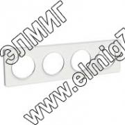 S52P808 Рамка 4 поста белая ODACE