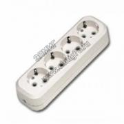 Makel колодка удлинителя 4 гн с/з MGP151