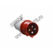(3S-014) Вилка сил. НТ-014 16А 380V 3P+Е IP44