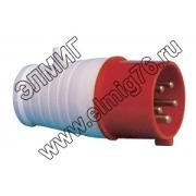 (3S-015) Вилка сил. НТ-015 16А 380V 3P+N+E IP44